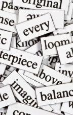 Words of understanding by buzzmaster