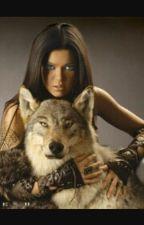 Девушка и волк by ariwa77