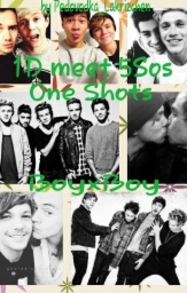 1D meet 5Sos One Shots boyxboy