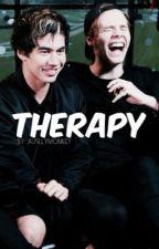 Therapy ♪ Cake AU ♪ by AusllyMonkey