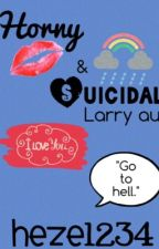 Horny and Suicidal//Larry au by lilacscreams