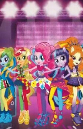 Mlp  Equestria girls (a mi manera)