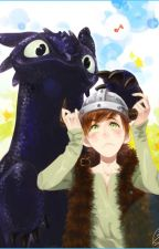 Hiccup x reader x Toothless by AxelDragonArt