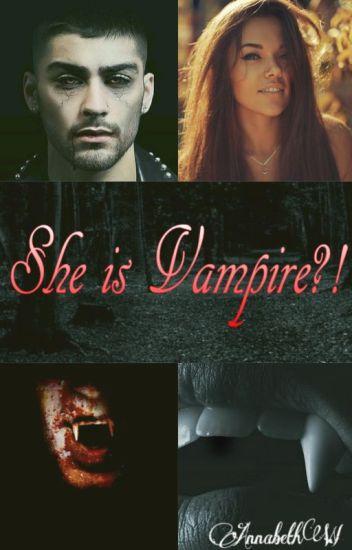 She is Vampire?!