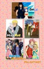 Fairy Tail Valentines(Nalu,Gruvia,Gale,Jerza and Miraxus) by ronielleleyson
