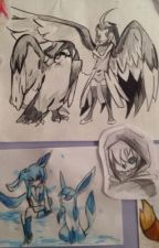 My drawings by CherryLadyCreeps