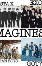 EXO/BangTan/GOT7/MONSTA-X Imagines by bts_taehyungkillme