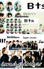 EXO, Bts, SHINee & SUJU Imagines by peunhan