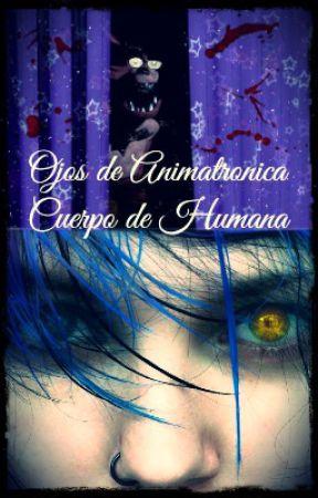 Ojos de Animatronica. Cuerpo de Humana (Foxy y Tu) by Suicide_Army