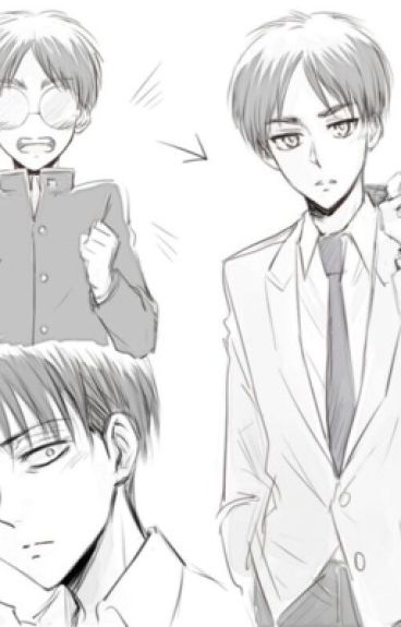 """Do you not remember me, levi-senpai? (Eren x levi)"""