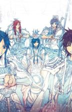 Magi the kingdom of  magic: Kiyomi azurite by SacredBlueFire