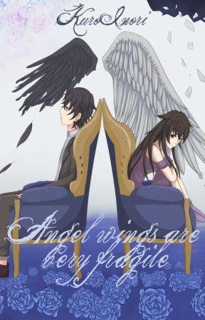Angel wings are very fragile by KuroInori