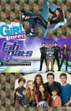 Girl Meets Lab Rats UnderCover by trayvonhaslam