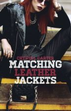 Matching Leather Jackets by cookiesinjanuary