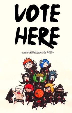 『 2015 』VOTE HERE by AkatsukiWattyAwards