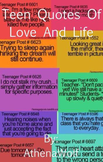 Teen Quotes Of Love Life Fish Wattpad