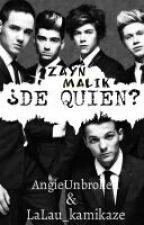 ¿De quién? (Zarry, Ziam, Ziall, Zouis) (MPreg) by LaLau_kamikaze