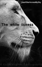 The white lioness by LikeAStarAcrossMySky