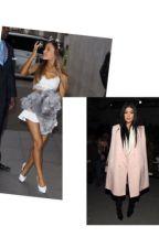 Ariana Grande x Kylie Jenner (lesbian) by livwaterworth