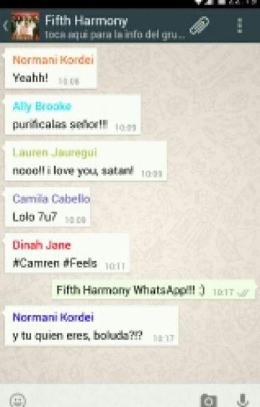 WhatsApp √√ |Fifth Harmony|