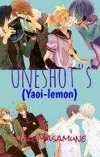 Oneshot's (YAOI-LEMON) by ValeMasamune