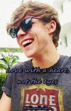 Love with the heart, not the eyes.//A.I// by dionlirison
