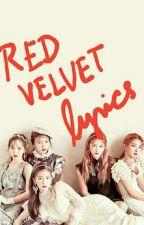 Red Velvet lyrics by MaryElleBernabe