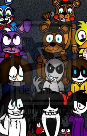 Reactions from creepypasta and fnaf And other anime we want to ruin by misscreepypasta183