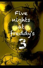 Five nights at freddy's 3 (TERMINADA) by Luckygamer87