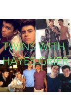 Twins with Hayes Grier by nashandcamarebaes