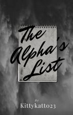 The Alpha's List by kittykat0855