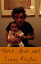 Alexa, Ellen and Harry Styles by simona1998a