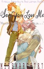 Say You Love Me - A NaLu Adventure And Lemon Fanfic by MissMarch787