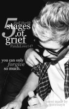 five stages of grief•ziall by theweirdesthingss