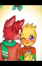 Chica x foxy by funthinknoodles