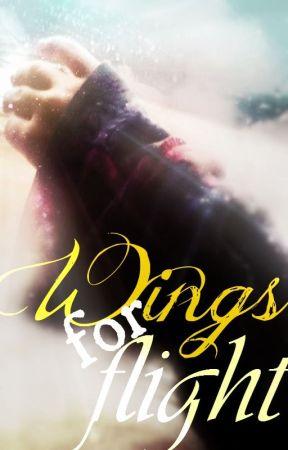Wings for Flight by braveyunvagabond