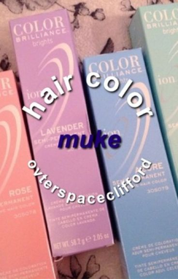 hair color → muke + a bit of cashton