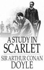 SHERLOCK HOLMES - A Study In Scarlet by ARTHUR CONAN DOYLE by Ikam_Atago