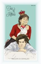 Tea & Kittens - L.S. by delerioustyles