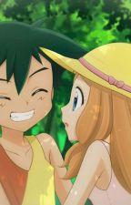 Ash y Serena.....un adorable reencuentro by AngelShadow