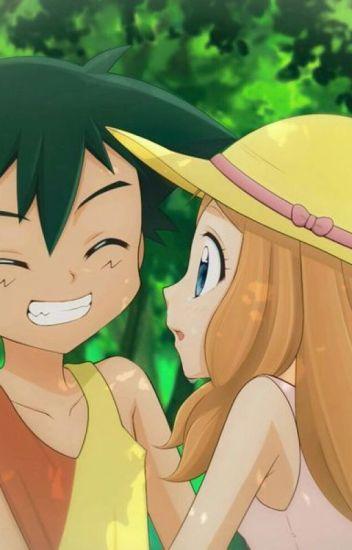 Ash y Serena.....un adorable reencuentro