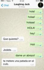 Chat Creepypastas (Whatsapp) by yoselynstylees