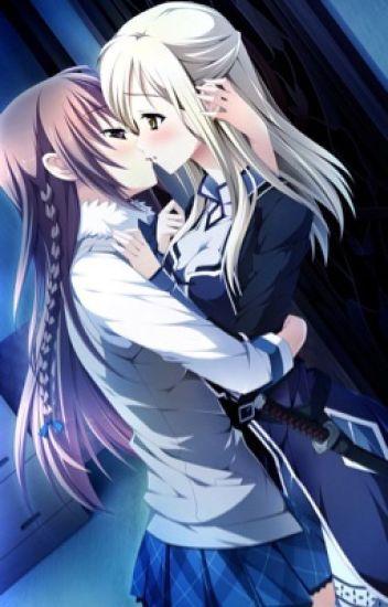 Fem Anime characters x Fem reader