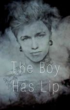 The Boy Has Lip (ManxBoy) by Pink_Crayon