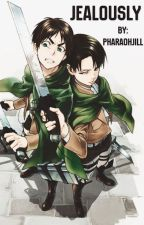 Jealously Levi x Male Reader x Eren by PharaohJill