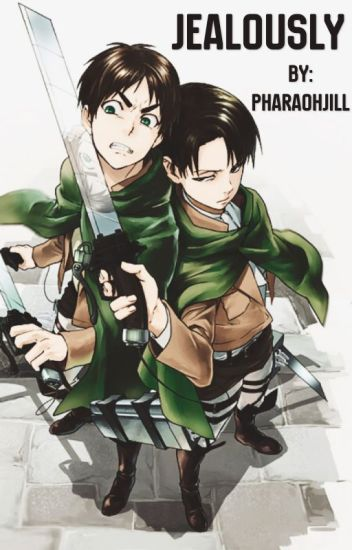 Jealously Levi x Male Reader x Eren