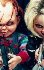 Chucky and Tiffany by Siniaboo2002