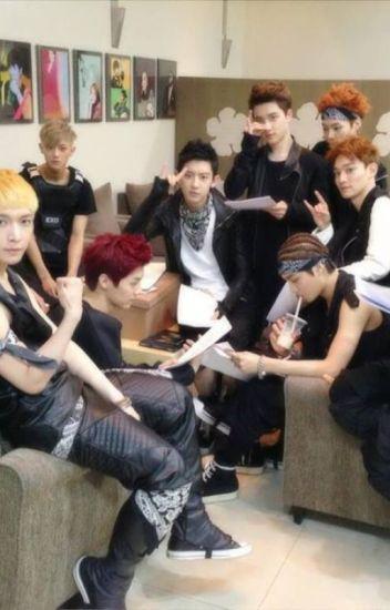 Stardom with EXO (reader x EXO)