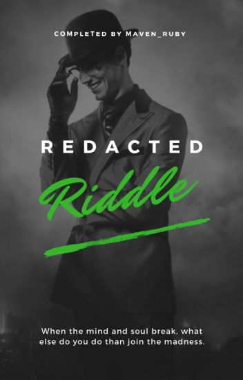 The Riddle ||Edward Nygma||