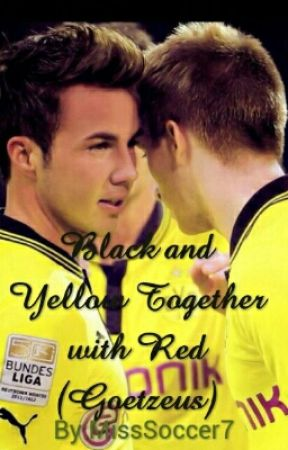 Black and Yellow Together with Red (Goetzeus) by MissSoccer7